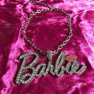 Barbie bling chain necklace